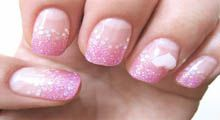 Cute Glitter Nail Art Video