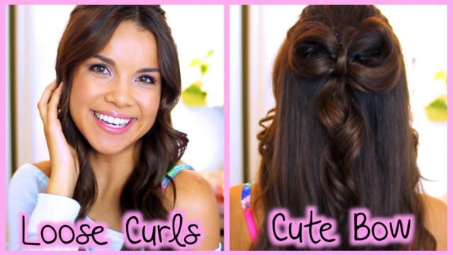 Easy and Quick Loose Curls
