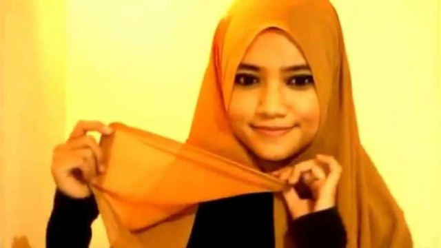 Simple Everyday Hijab Style In 2 Minutes