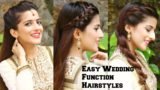 3 Easy Hairstyles For Desi Wedding Occasions – Knot Me Pretty