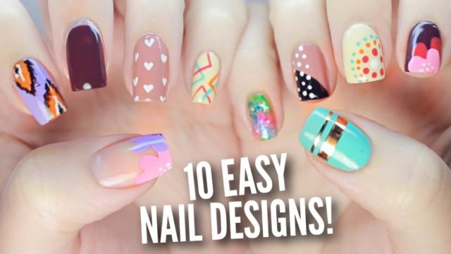10 Easy Nail Art Designs for Beginners – Cutepolish