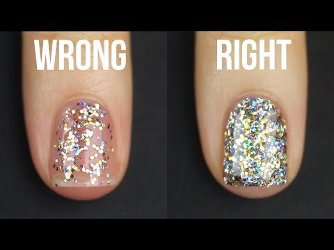 How to Apply Glitter Nail Polish – Kelli Marissa