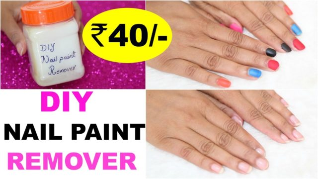 DIY Nail Polish Remover – ShrutiArjunAnand