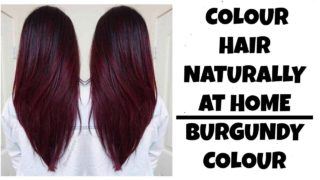 How to Color Hair Red at Home Naturally