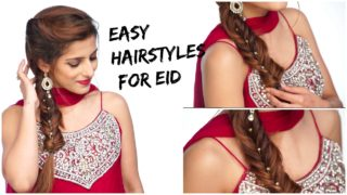 3 Eid Hairstyles for Long Hair