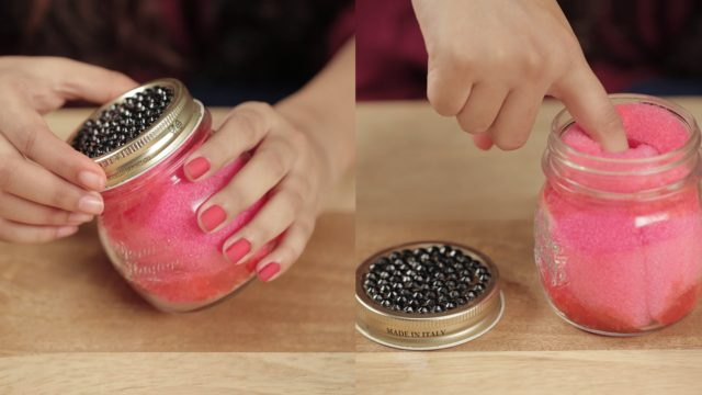 DIY Dip And Twist Nail Polish Remover Jar