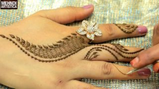 2 Minute Mehndi Design