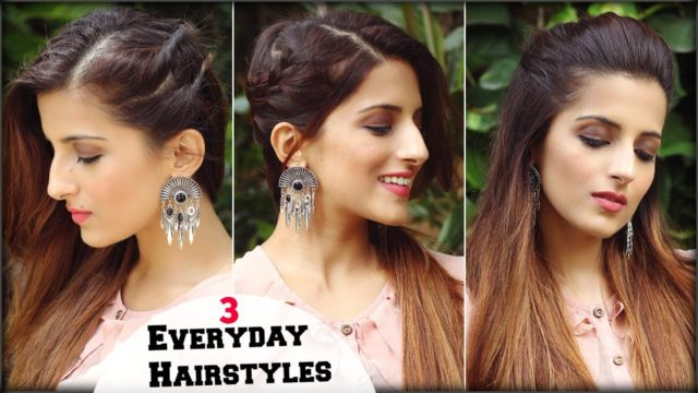 Quick Back to School Hairstyles